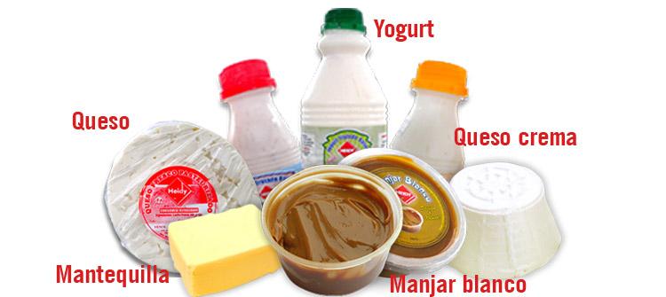 Producción de derivados lácteos de la Granja Heidy