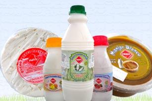 Producción de leche y derivados lácteos